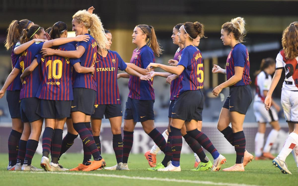 Sporting Huelva - FC Barcelona Femenino (previa): El dulce momento, a prueba