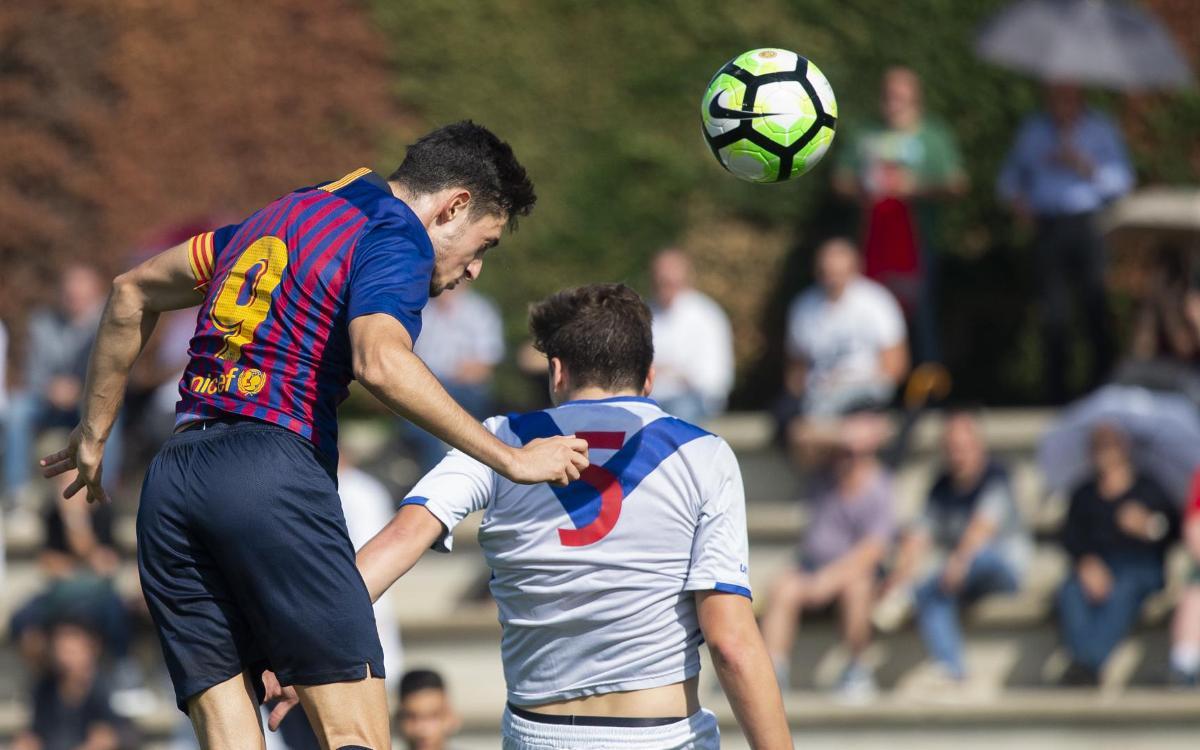 ¡Los mejores goles del fin de semana en La Masía!