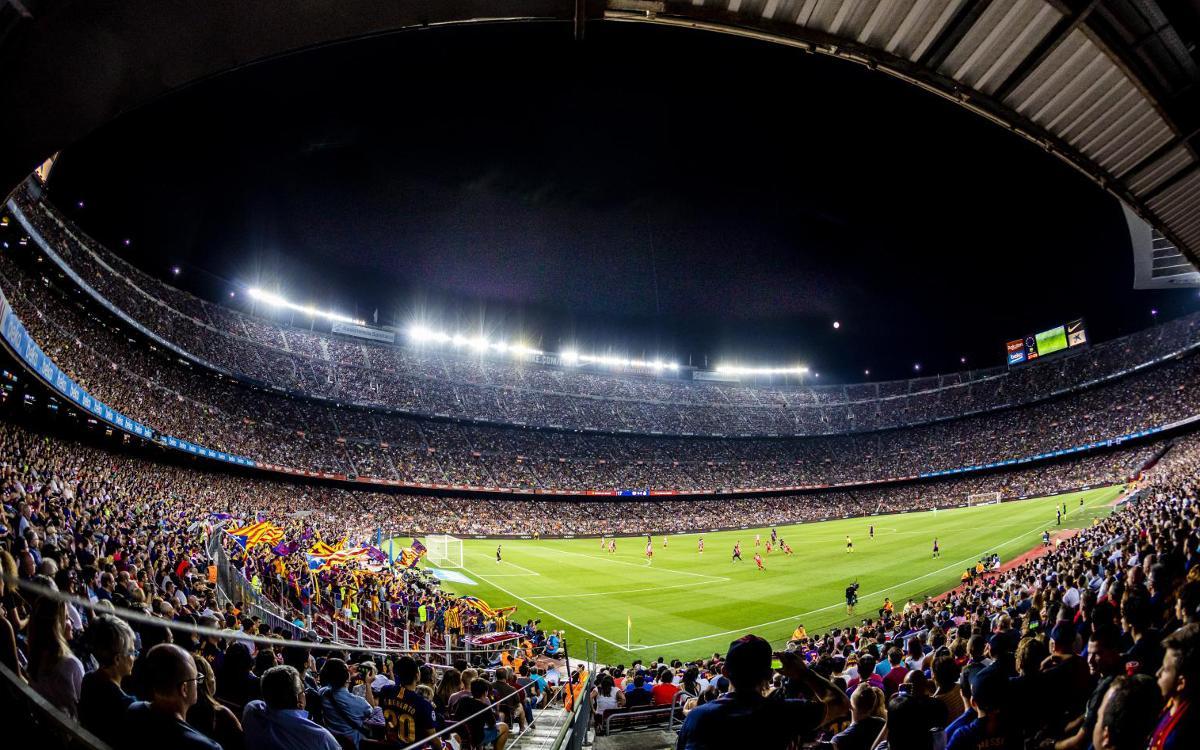 Nuevos incentivos del Seient Lliure para seguir mejorando la asistencia en el Camp Nou