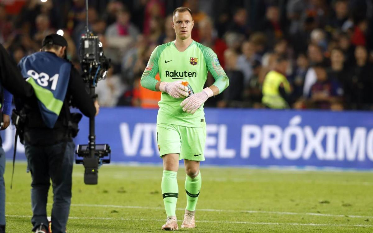 Ter Stegen's amazing double-double against Sevilla