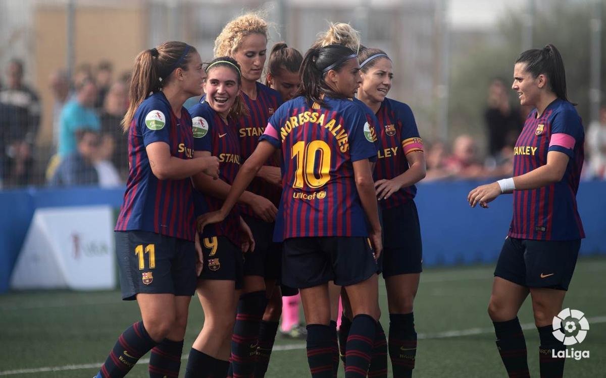 FC Barcelona 1-3 Sporting Club de Huelva: Five out of five