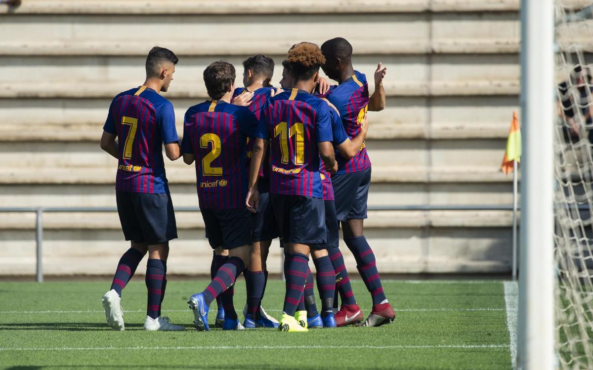 Juvenil A - CE Europa: Nueva goleada para afianzar el liderato (4-0)
