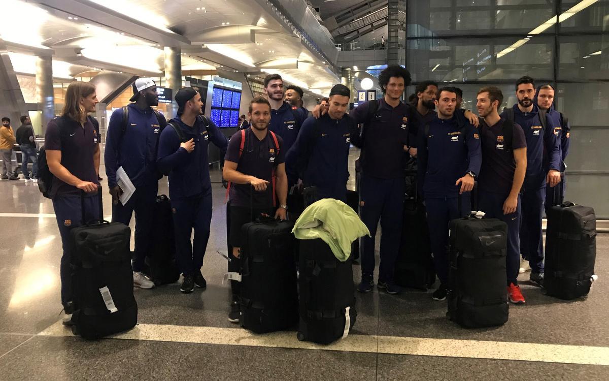 El Barça Lassa ya está en Doha