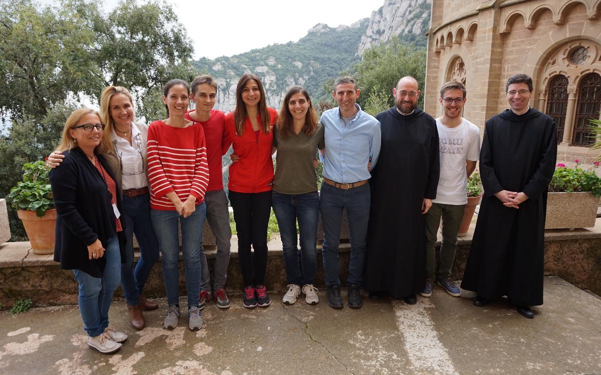 Encuentro de educadores de La Masía y el Monasterio de Montserrat