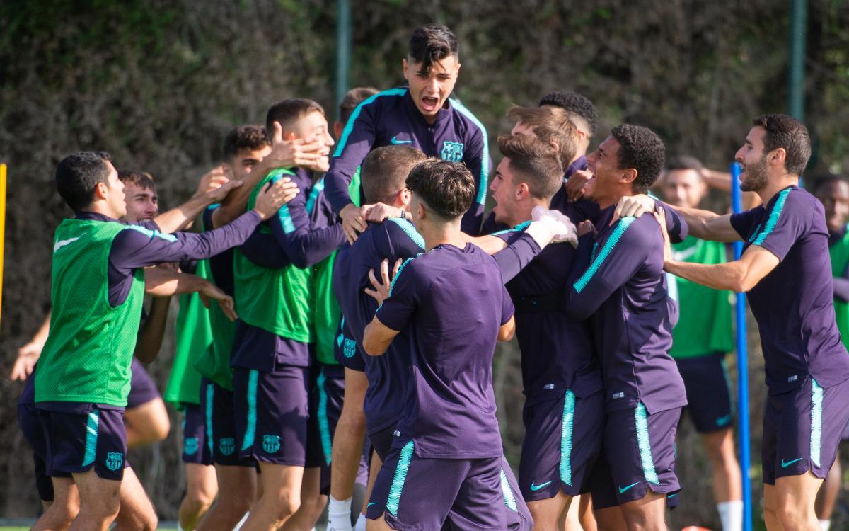 Barça B - Villarreal B: ¡Llega el líder!