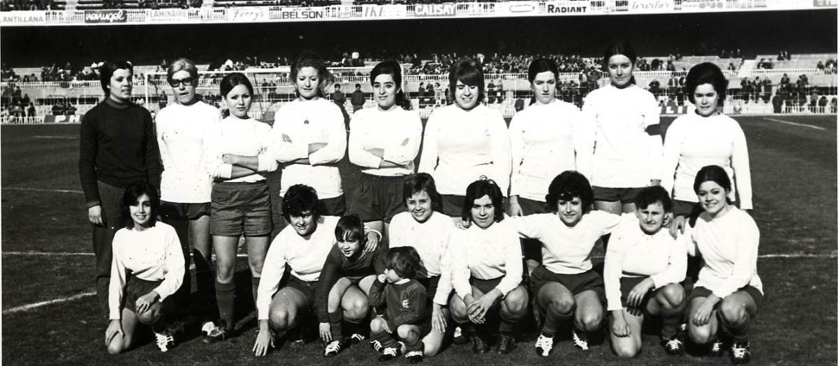 Introducción histórica del futbol femenino