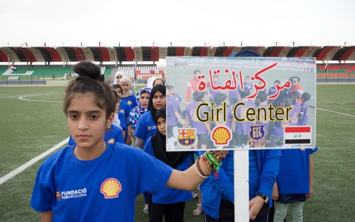 La fundación Barça fomenta la igualdad y los valores a través del deporte