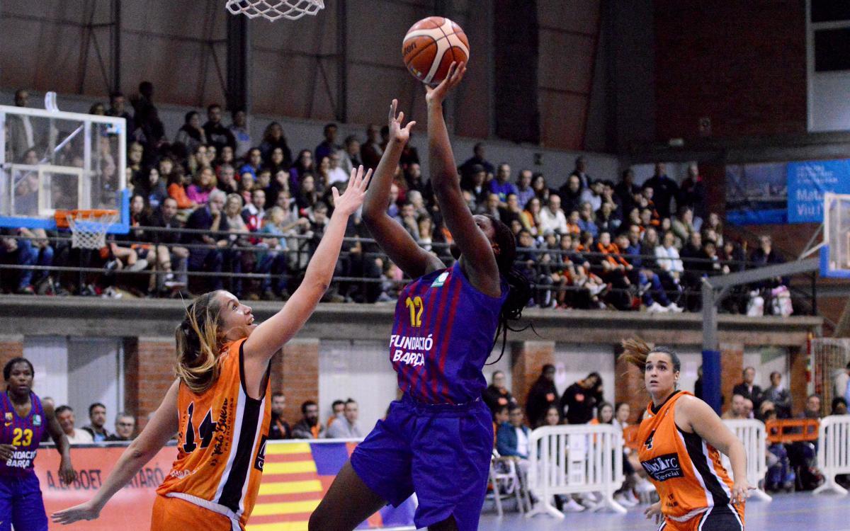 Primera derrota del Barça de Bàsquet Femenino (76-62)