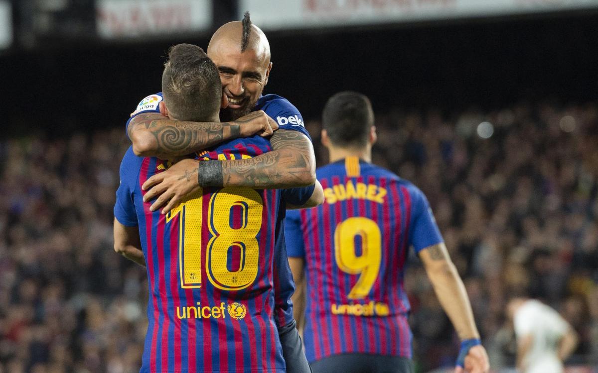 FC バルセロナ - レアル・マドリード:スアレスが導いたゴールフェスティバル (5-1)