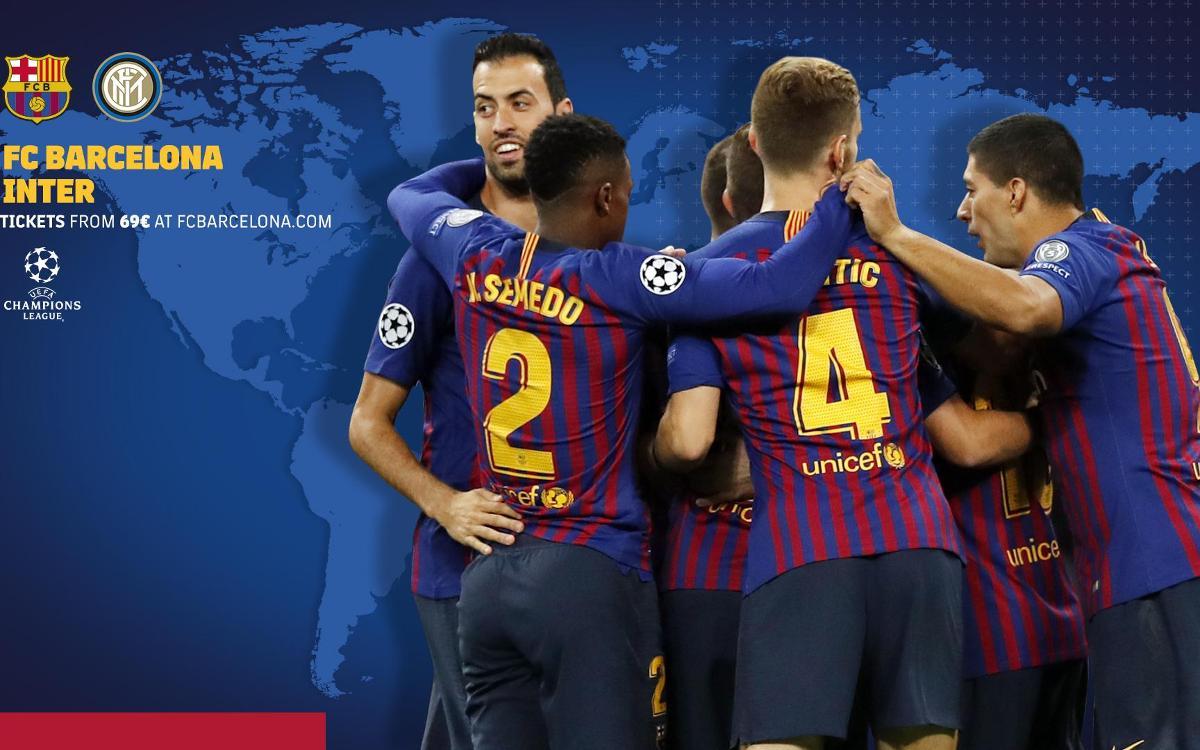 Cuándo y dónde ver el FC Barcelona - Inter