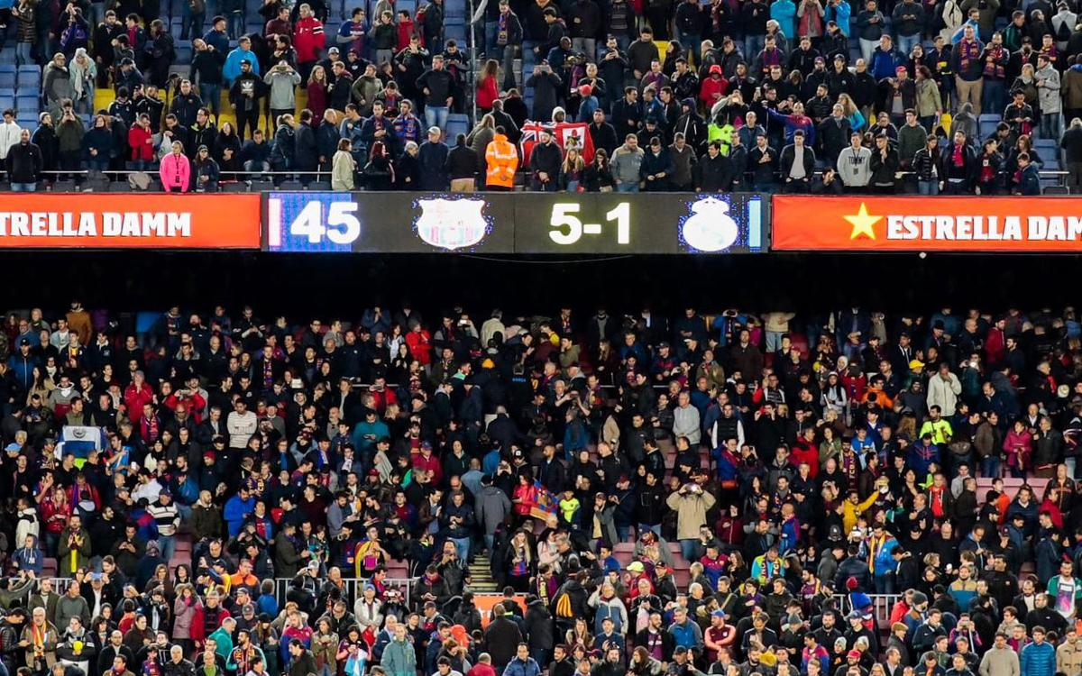 64 years later, Barça beats Madrid again 5-1