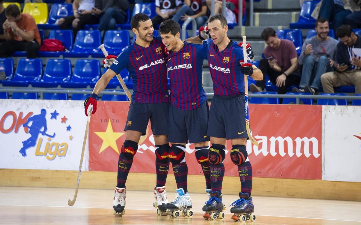 Barça Lassa - PHC Sant Cugat: Triunfo para la historia (9-3)