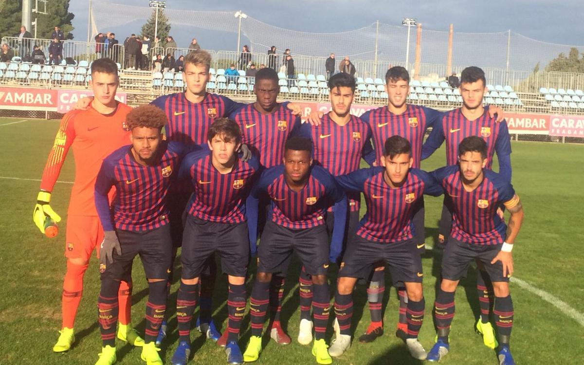 Real Zaragoza – Juvenil A: Segunda derrota del curso (2-1)