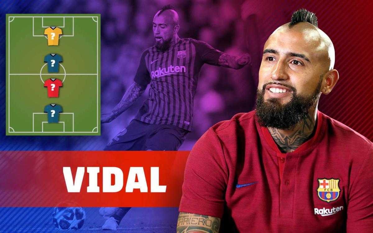 My TOP 4: Arturo Vidal's idols!