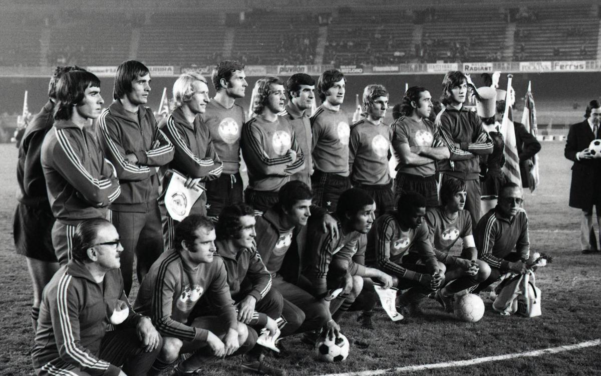 45 años del I Día Mundial del Fútbol en el Camp Nou