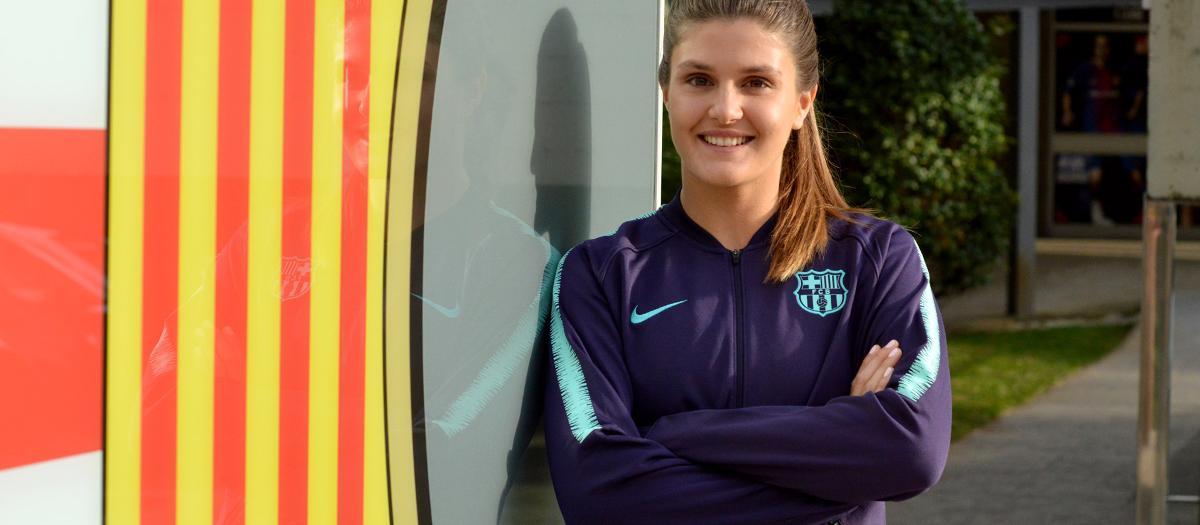El Barça d'Atletisme incorpora Fiorella Chiappe