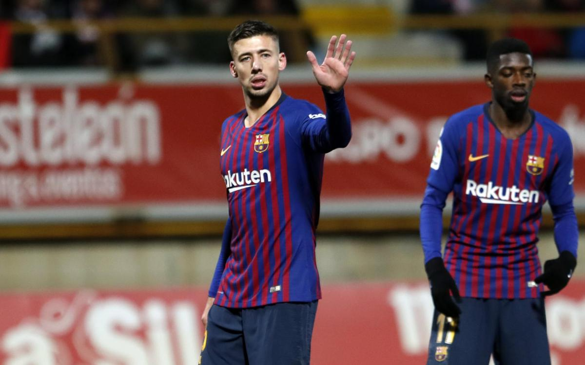 Cultural Leonesa 0-1 FC Barcelona: Lenglet wins it in León