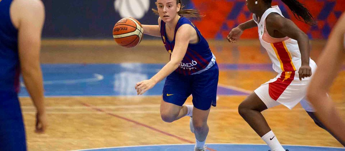 El Barça de baloncesto femenino gana el Segle XXI y suma la tercera victoria
