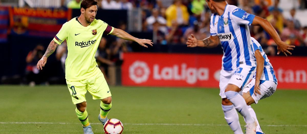 Leganes 2 FC Barcelona 1