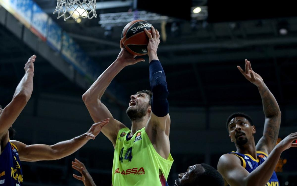 Khimki Moscou 80-87 Barça Lassa: Solid display in Russia