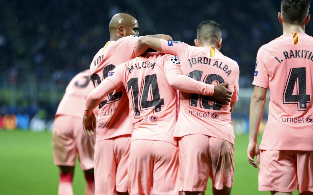 Inter – FC Barcelona: Un punto para sellar la clasificación para los octavos (1-1)