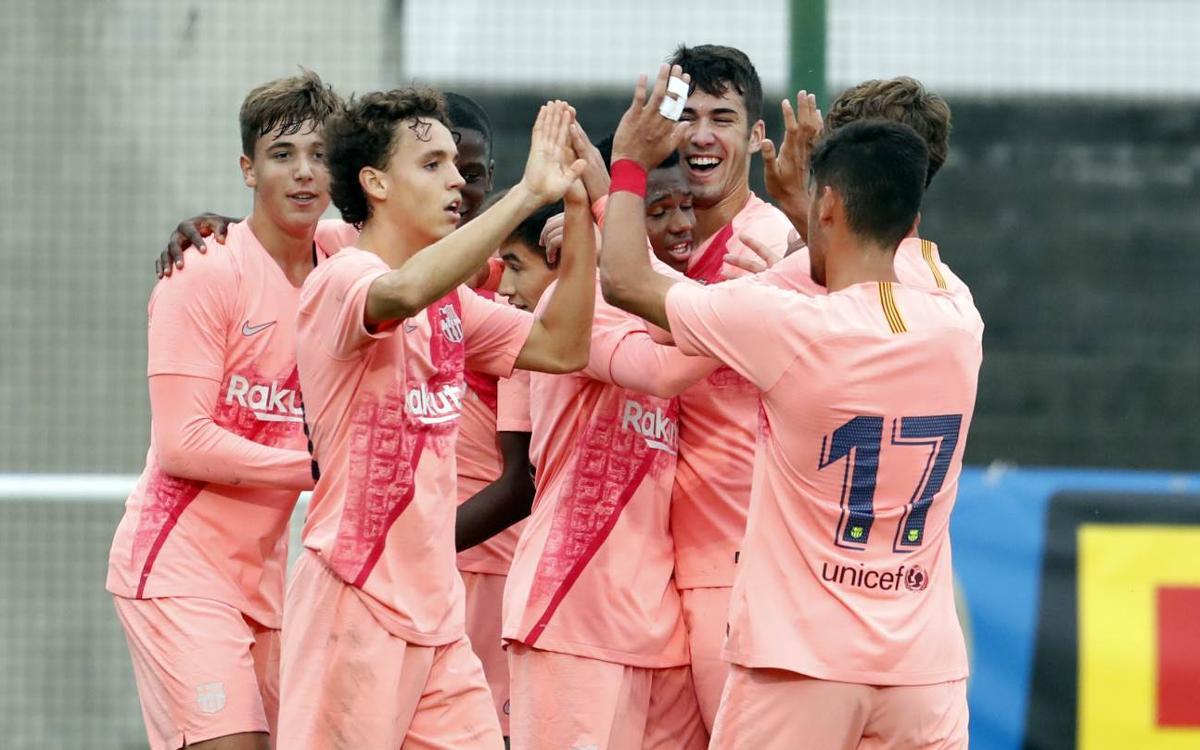 Inter – Juvenil A: Victòria per reforçar el liderat (0-2)