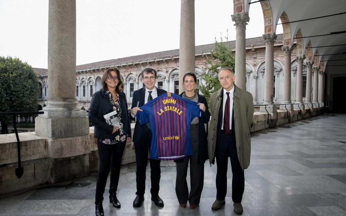 Barça Innovation Hub promoted at University of Milan in association with Ramon Llull Institute