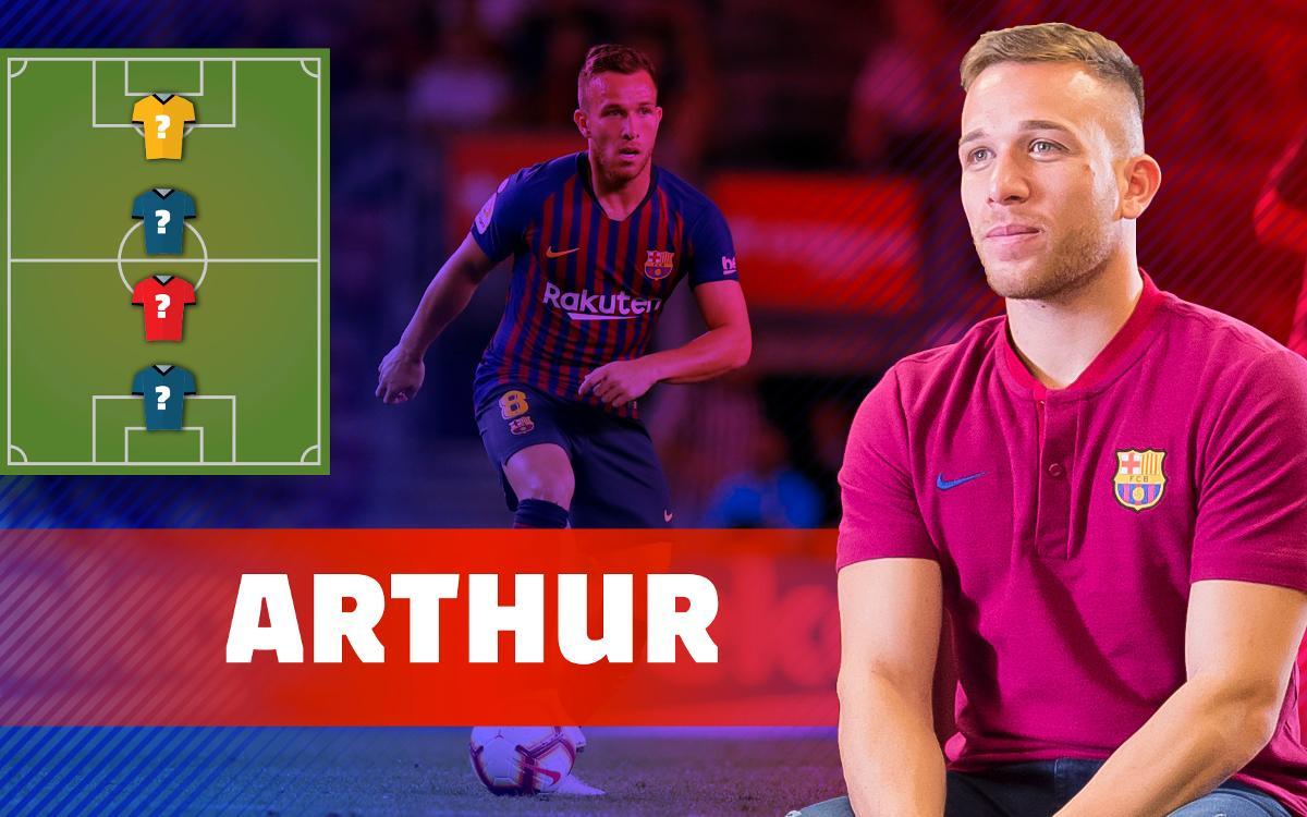 My Top 4: Arthur Melo nos descubre sus ídolos futbolísticos