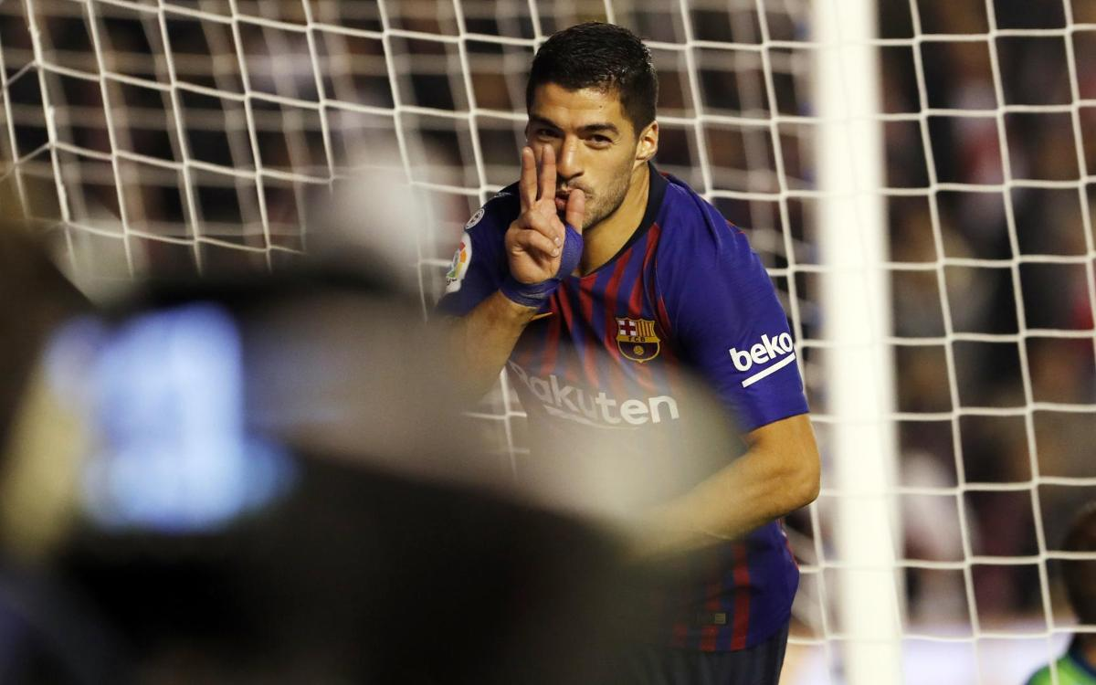 Luis Suárez top scorer in LaLiga