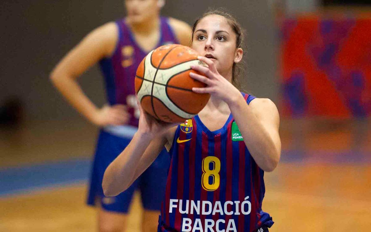 Patatas Hijolusa-Barça Bàsquet Femení: Lleó marca el límit