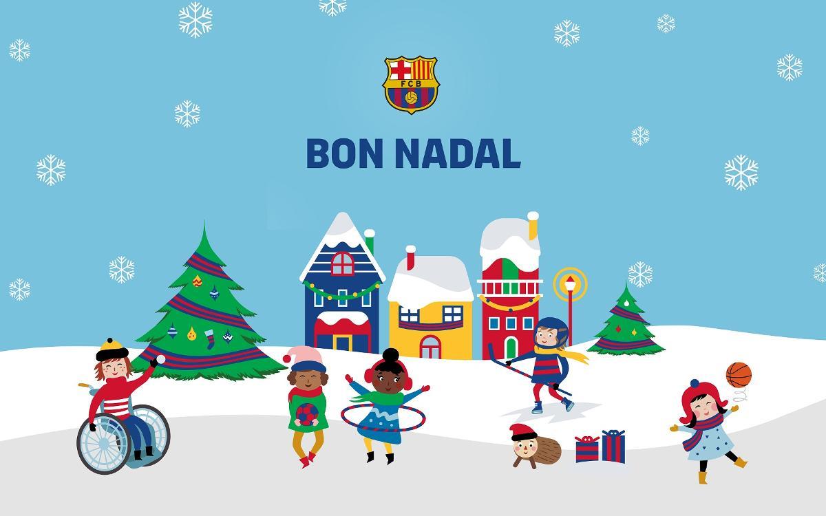 XIV Mostra de Nadales Blaugrana per a socis de 3 a 15 anys