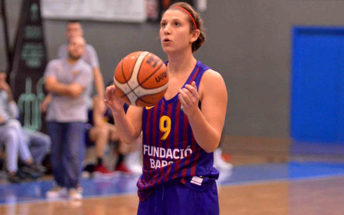 El Barça de Baloncesto Femenino recupera la alegría y suma la cuarta victoria