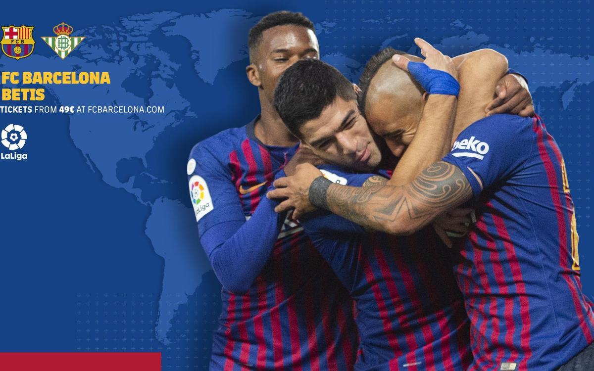 Cuándo y dónde ver el FC Barcelona - Betis