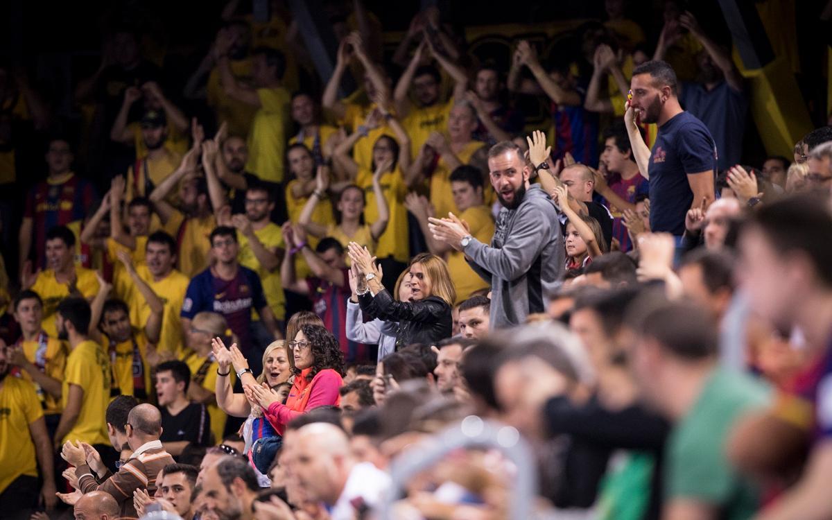 Crida a l'afició per al partit contra el Palma Futsal