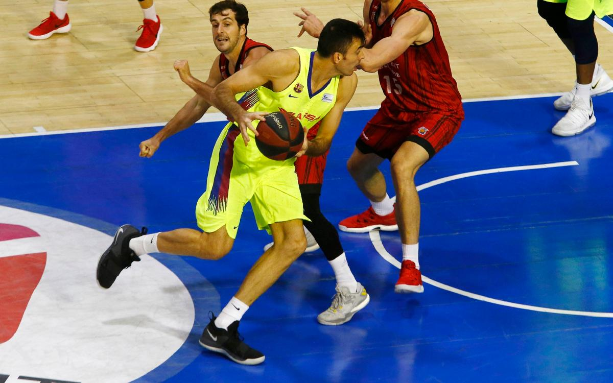 Fuenlabrada - Barça Lassa: First defeat in the ACB League (79-73)