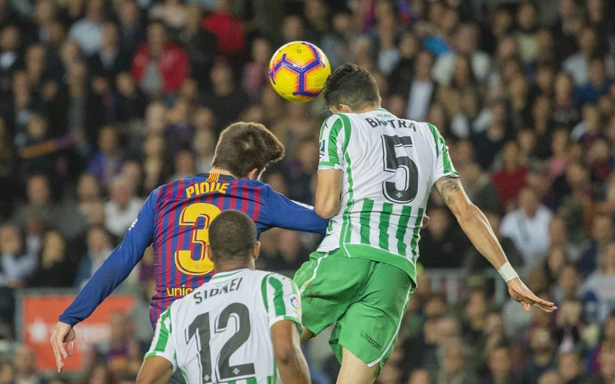 El resum del FC Barcelona – Betis