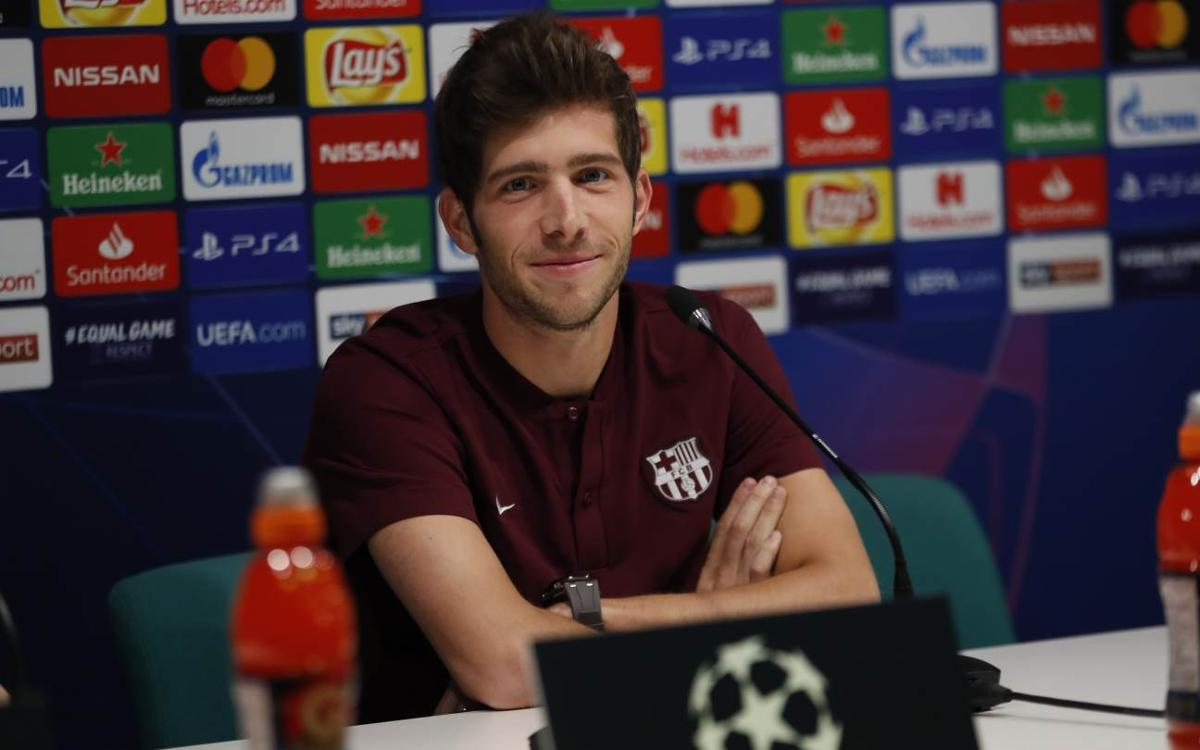 Sergi Roberto: 'It's important to finish top of the group'