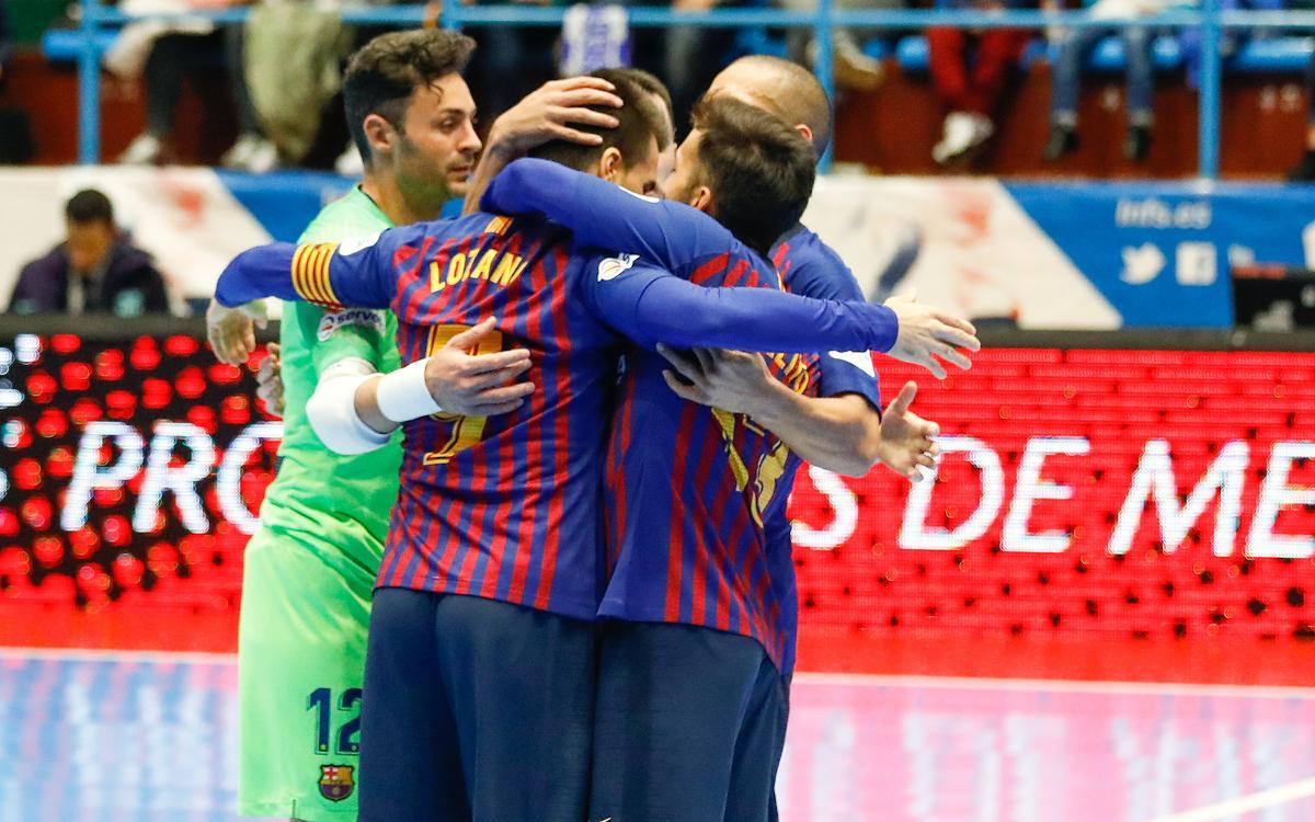 O Parrulo Ferrol – Barça Lassa: Good win in Galicia (2-5)