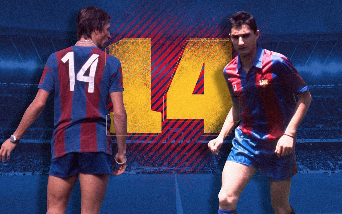 The number 14, Cruyff... and Valverde