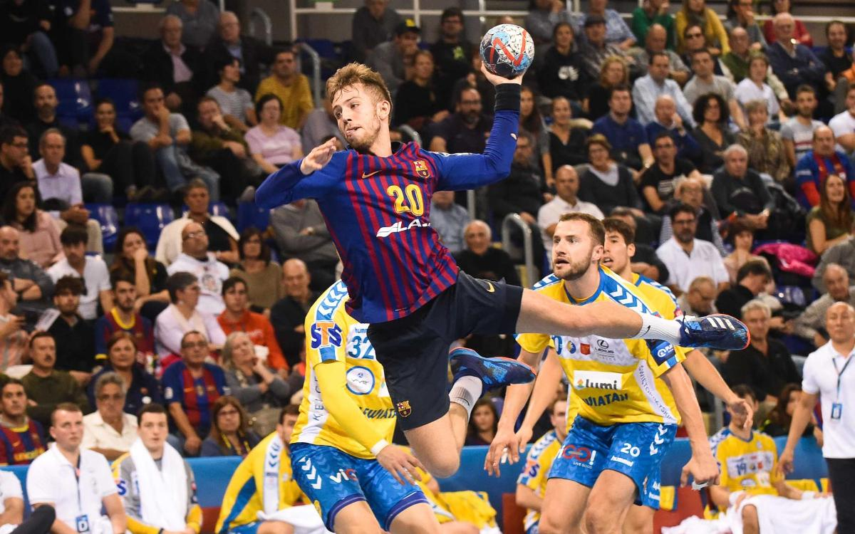 Barça Lassa – Vive Kielce: Well-earned win to stay leaders (31-27)