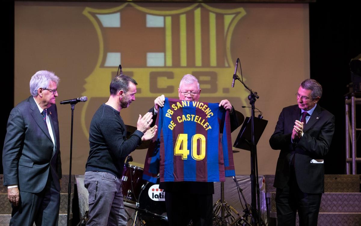 La Penya Blaugrana Sant Vicenç de Castellet celebra el seu 40è Aniversari