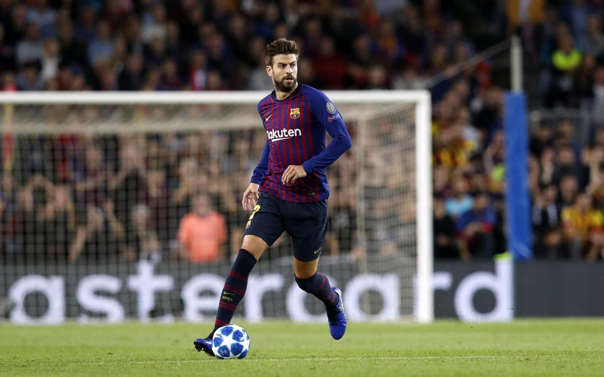 Gerard Piqué: 'Playing 100 matches in the Champions League at one Club means I've done well'