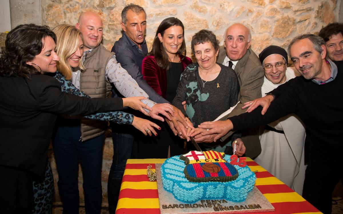 Celebració dels 25 anys de la Penya Barcelonista Binissalem