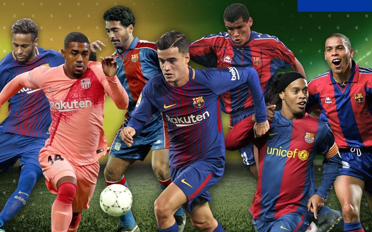 L'estrena golejadora dels brasilers del FC Barcelona