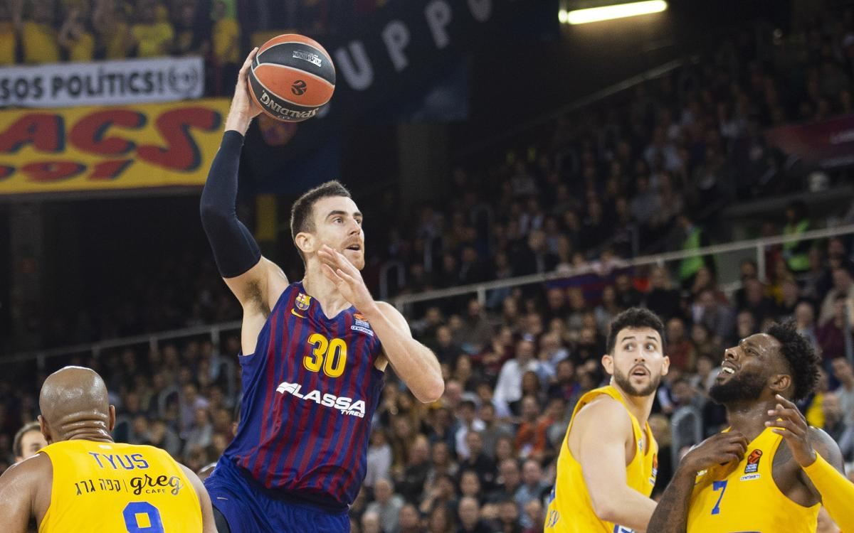 Barça Lassa 74-58 Maccabi Tel Aviv: Victory from defense