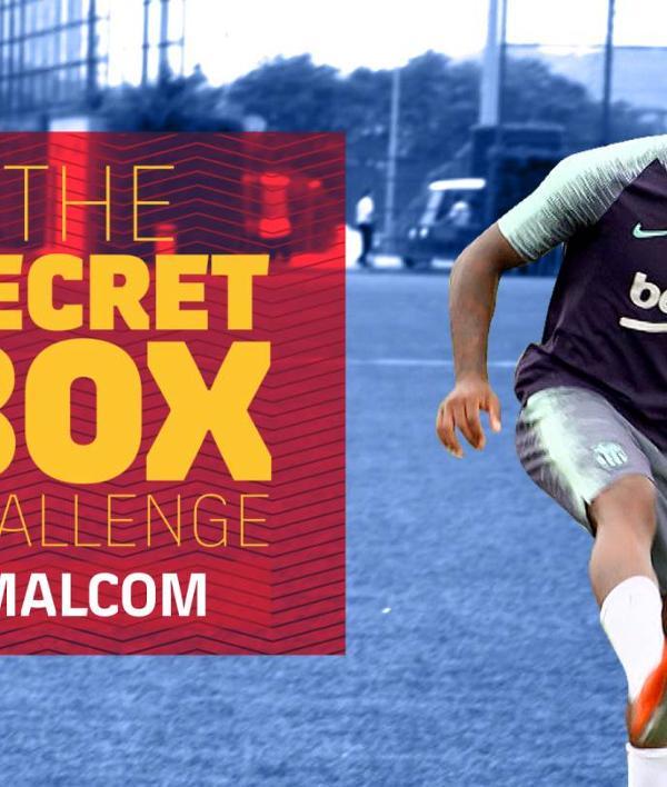 Le défi de la Secret Box de Malcom