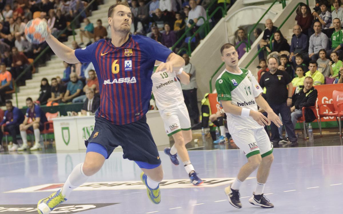 Helvetia Anaitasuna 29-32 Barça Lassa: And the wins keep coming