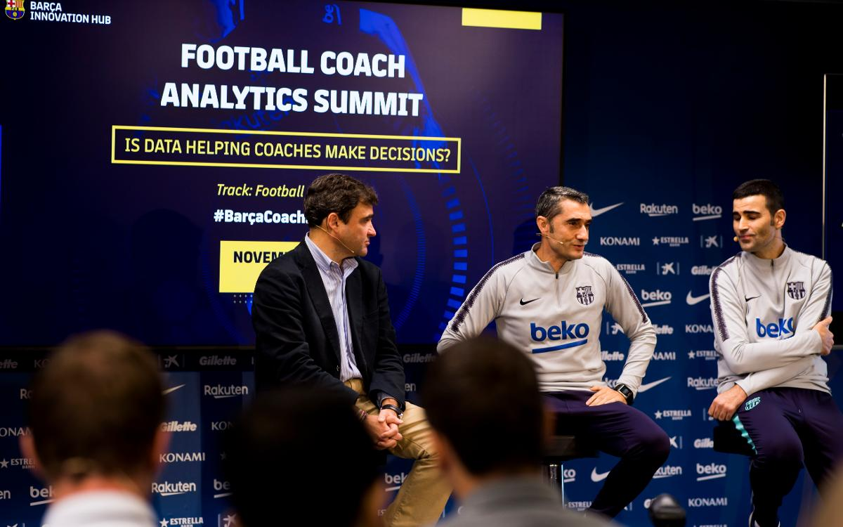 La Football Coach Analytics Summit posa les dades a debat