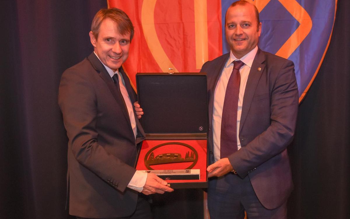 Presentes en el 125º aniversario del FC Basilea
