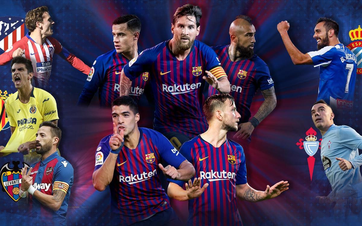 Cinc partits de Lliga fins a final d'any